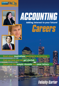 Everything you ever wanted to know to break into the exciting world of accounting!